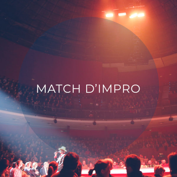 Match Impro spectacle smile and song 2020